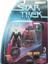 Star Trek: Warp Factor 5 Series - 4.5 BORG QUEEN Action Figure - PLAYMAT... - $69.24