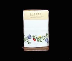 Ralph Lauren GEORGICA GARDEN Embroidered Pique EURO Sham NIP MSRP $130 DISC - $82.99
