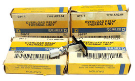 LOT OF 4 NIB SQUARE D AR2.04 OVERLOAD RELAY THERMAL UNITS AR204