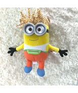 Ty Beanie Babies Dave Despicable Me 3 Wearing Fannie Pack Straw Hat New Toy - $8.39