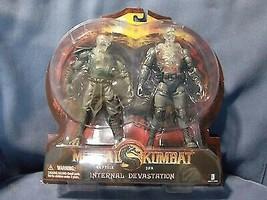 Mortal Kombat Reptile and Jax  Internal Devastation - $98.00