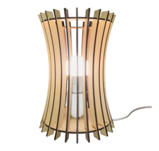 Handmade table or  bedside  lamp made of Mdf Wood.  Modern and  contempo... - $47.00
