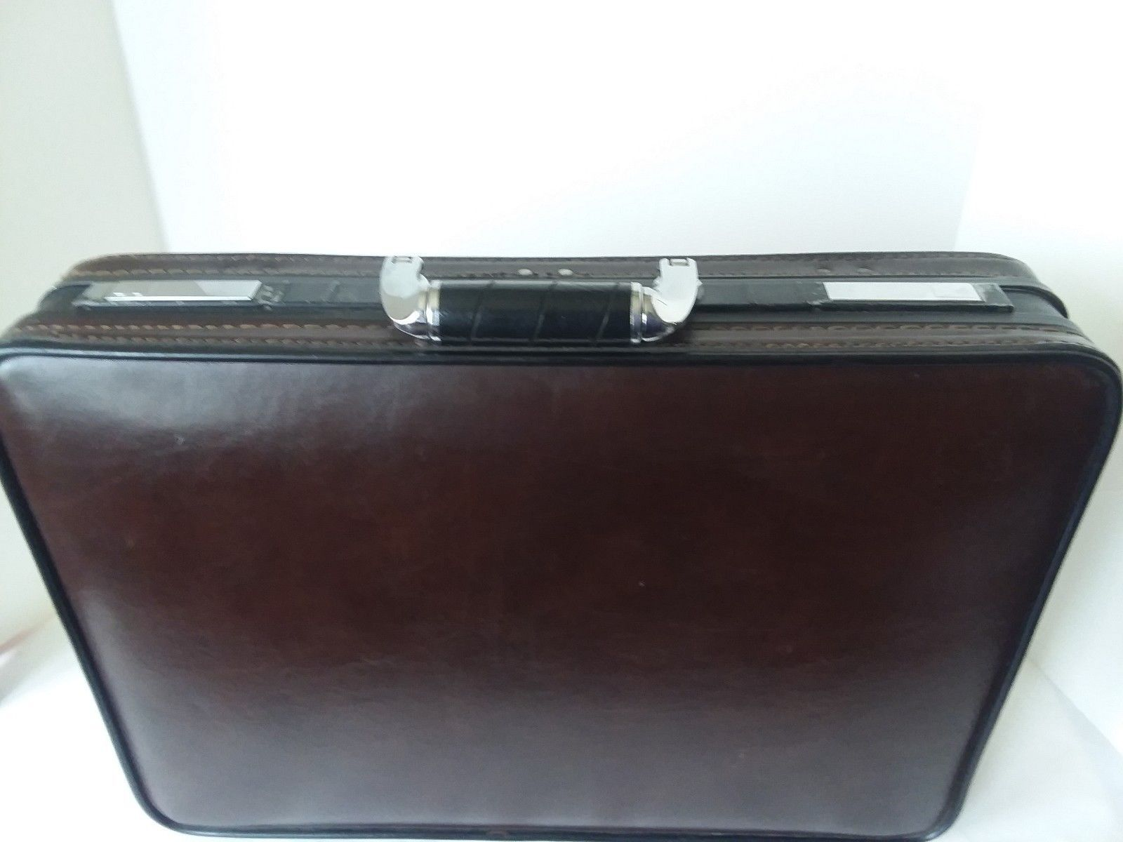 Vtg Platt Brown Briefcase