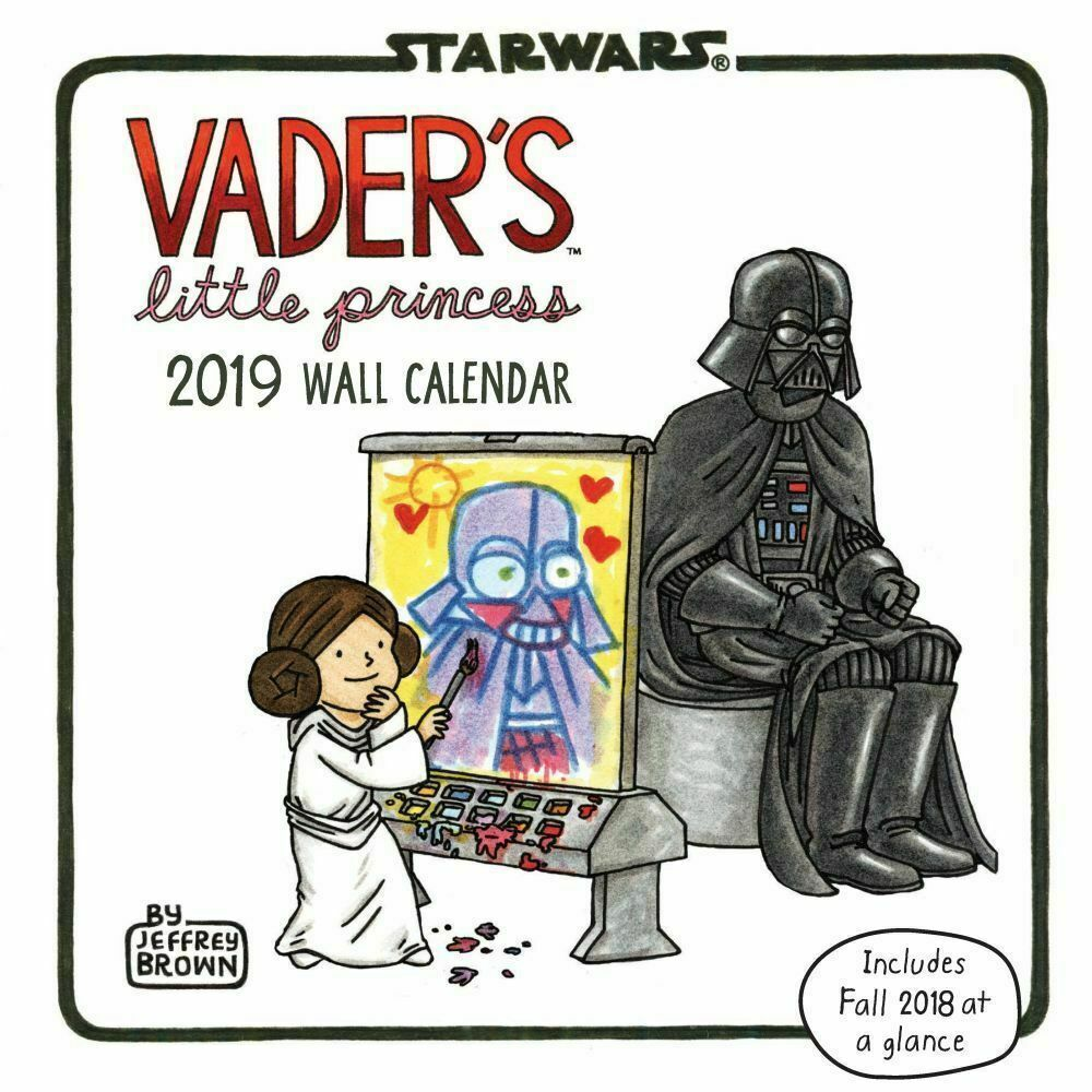 Vaders Little Princess 2019 Wall Calendar,  by Chronicle Books