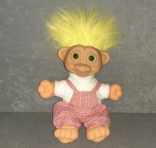 """Soma Troll Doll: Light Up Glowing Green Eyes 10"""" [Works] - $25.00"""