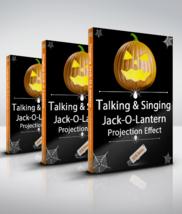 Talking and Singing Pumpkins / Jack-O-Lanterns - Projection Effect - USB... - $39.99