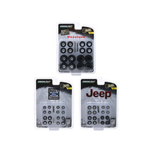 Wheel and Tire Packs Set of 3 Multipacks Series 1 1/64 by Greenlight 16010SET - $33.83