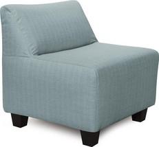 Howard Elliott Pod Chair Casual Light Blue Breeze Sterling - $859.00