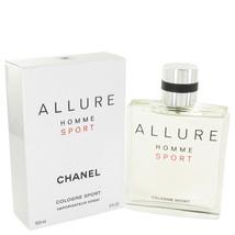 Chanel Allure Homme Cologne Sport 5.0 Oz Spray  image 2