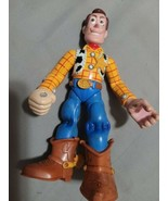 Disney Toy Story Woody With Talking Backpack Action Figure no backpack - $14.85