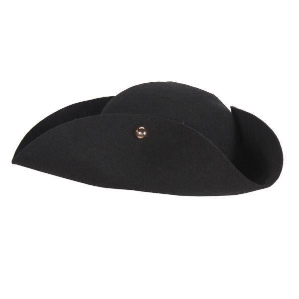 9f0c8871cd1 Woolfelt Tricorn Hat - Period Wear   Pirate and 22 similar items