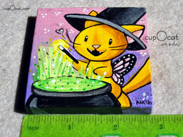161009   mini painting   little witch  6  thumb200