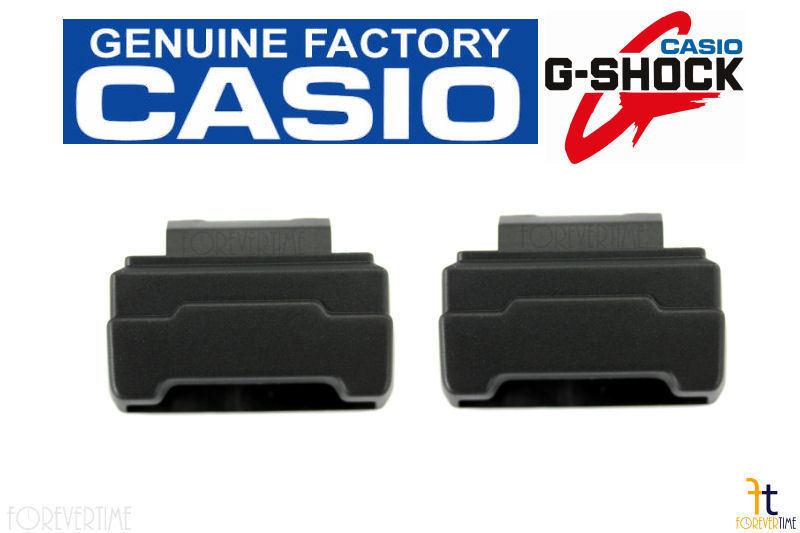 CASIO G-Shock GDF-100 (ALL GDF-100) Black End Piece Strap Adapter (QTY 2) +2pins - $20.65