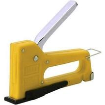 MAX Light-Duty Gun Tacker Yellow with staples - $23.00