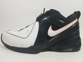 New Nike Air Flight Banger Basketball 311902111 Men's Shoes Leather Blac... - $58.81