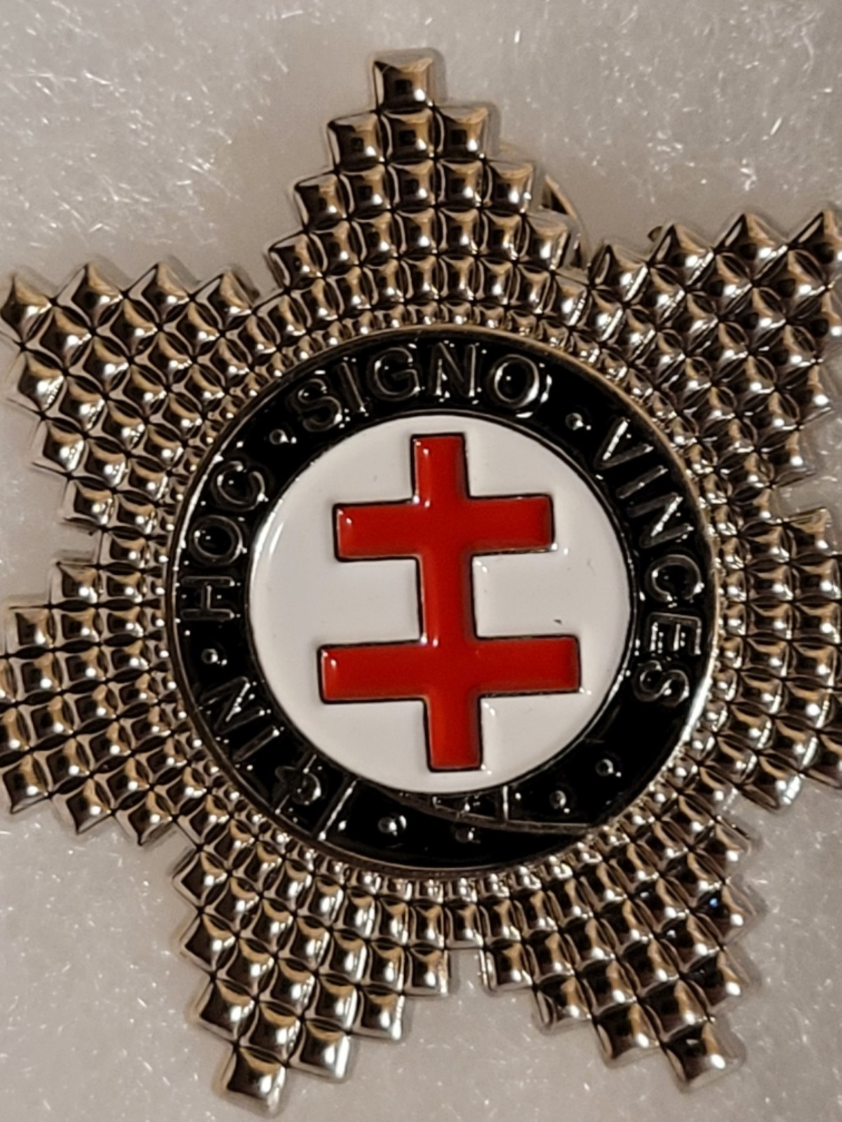 Primary image for Knight's Templar Star Lapel Pin