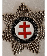 Knight's Templar Star Lapel Pin  - $9.99