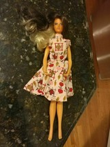 VINTAGE 1975 TUESDAY TAYLOR BLONDE BRUNETTE CHANGEABLE HAIR BARBIE DOLL - $78.98
