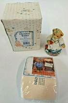 Cherished Teddies Kelsie Be The Apple Of My Eye Enesco Figurine Snow White - $14.80