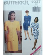 Butterick Sewing Pattern 5327 Misses Top Skirt Petite Size 6 8 10 - $12.59