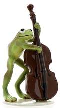 Hagen-Renaker Specialties Froggie Mountain Breakdown Bluegrass Frog Bass Player
