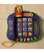 Disney Winnie the Pooh TEACH 'N LIGHTS PHONE - VTech, 4 Modes of Play - $20.79