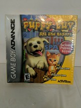 Game Boy Advance Puppy Luv Spa & Resort New - $6.99