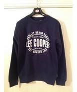 Lee Cooper Crew Logo Sweater / Mens  - Sizes : M / L / XL - Colour : Navy - $15.02