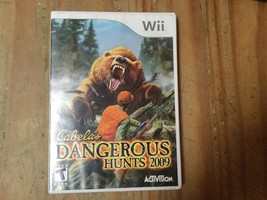 Cabela's Dangerous Hunts 2009 Nintendo Wii - $3.00