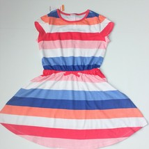 Gymboree Mix 'n' Match Multi-Striped Dress size M 7 8 NWT - $14.99