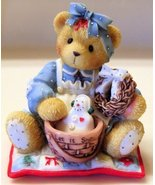 "Collectible Porcelain ""Sweet Country Home"" Suzanne Cherished Teddies - $11.88"
