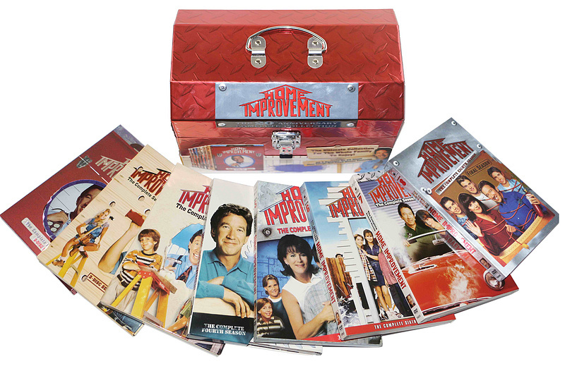 Home Improvement Complete Series Seasons 1-8 DVD Box Set 25 Disc Free Shipping