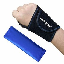 Wrist Gel Ice Pack Neoprene Wrap for Hot Cold Reusable Therapy, Great for Carpal image 1