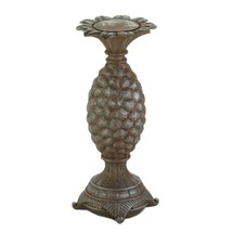 Large Pillar Candle Holders, Modern Unique Pedestal Candle Holder Pillar... - $34.99