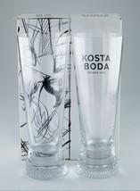 Kosta Boda Limelight Highball Pilsner Occhiali W/Originale Scatola Nice - $88.48