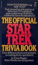 The Official Star Trek Trivia Book Rafe Needleman - $19.79