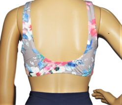 Vicious Young Babes (VYB) Floral Swimsuit Top Size L image 4