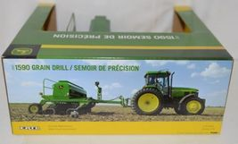 John Deere TBE45430 Die Cast Metal Replica 2002 1590 Grain Drill image 6