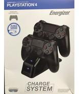 Energizer - 0019NV v5.0 - 2x Controller Charging Station for PS4 - PlayS... - $25.69