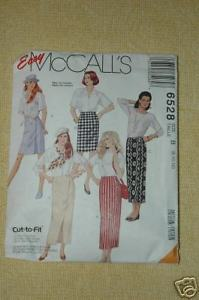 Primary image for McCall's Pattern  #6528 Misses Wrap Skirt  Size 8 10 12