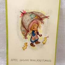 Betsey Clark - 1970 April Calendar Page- Unused Postcard image 5