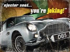 Aston Martin DB5 Ejector Seat James Bond Films Fridge Magnet - $3.33