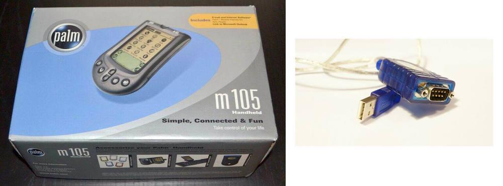 M105 serial usb bundle