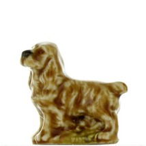 Wade Whimsies Red Rose Tea Canadian Series 1 Cocker Spaniel Dog