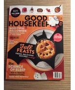 Good Housekeeping Fall Feasts Boo-tiful Halloween Science of Sleep Octob... - $3.96