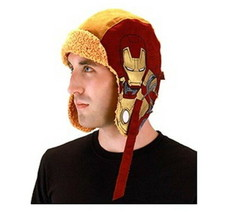Marvel Comics Iron Man 3 Movie Licensed Aviator Laplander Style Hat NEW ... - $13.54
