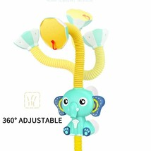 Electric Elephant Water Spray Toys Faucet Baby Bath Toy Red Blue Kids Sh... - $31.20