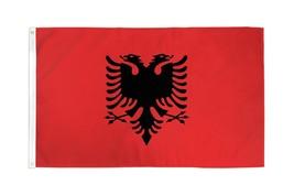 "Albania 3X5' Flag New 3'X5' 3 X 5 Feet 36X60"" Big - $9.85"