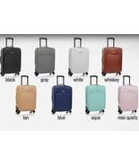 JOY IMAN Genuine Leather Luxury City Carry On Dresser - $69.99