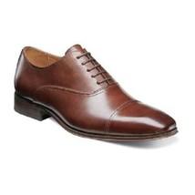 Men's Shoes Florsheim Corbetta Cap Toe Oxford Cognac Leather 14180-221 - $110.00